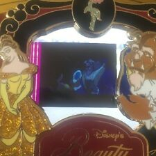 Disney Pin Beauty And The Beast Belle Piece Of Movie History Movies PODM Rare Le