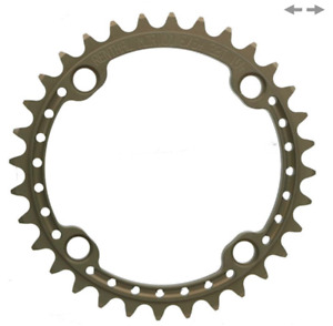 """Renthal Cycling Bicycle Chainring BCD: 104, 5/64"""" 4 bolt - 38t"""