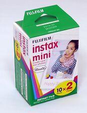 USD-Fuji Instax Mini Film Plain White-Twin Pack (20pcs) For Mini 7 7s 8 10 20 25