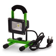 Scheinwerfer Lichtfluter LED 10W 240V 800Lumen Arbeitlampe Gartenleuchte tragbar