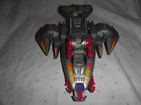"""1994 lewis galoob toys Spacecraft Plastic Space Ship 9"""" Toy"""