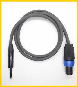 1 Meter Lautsprecher # Speakerkabel Speakon kompatibel Klinke 2 x 1,5 mm²