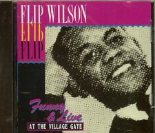 FLIP WILSON - Funny & Live - At The Village Gate - CD - NEW.