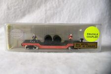 MODEL POWER 84112 METAL CABLE CAR CANADIAN NATIONAL W/ FIGURES N SCALE NEW