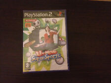 U-Move Super Sports Play Station 2 PS2 PAL ESPAÑOL PRECINTADO NUEVO