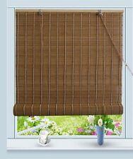 """Bamboo Roll Up Window Blind Sun Shade W32"""" x H72"""""""