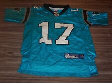 CAROLINA PANTHERS #17 DELHOMME NFL FOOTBALL JERSEY YOUTH SMALL 8
