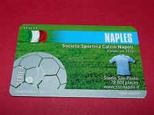 RARE FOOTBALL CARD FOOT2PASS 2010-2011 SSC NAPOLI CALCIO SERIE A NAPLES
