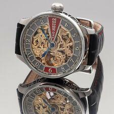 Wristwatch Pocket Movement TAG HEUER New Case Steel Case HOMMAGEWATCH