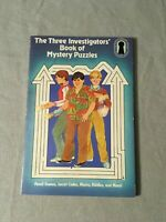 Vintage 1982 The Three Investigators' Book of Mystery Puzzles by Barbara McCall