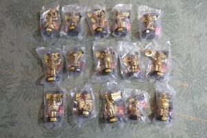 Simpsons talking characters full gold set of 15 MINT sealed