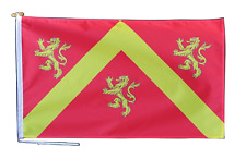 More details for anglesey ynys môn flag with rope and toggle - various sizes