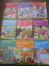 OFERTA  LOTE 9 CUENTOS + 9 CD - VAUGHAN - 36 FABULAS -  EDICION BILINGUE (NUEVO)