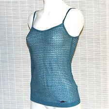New $165 Womens LACOSTE+MALANDRINO Size XS Crochet Camisole Active Cami Top Tee