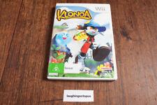 Klonoa for Nintendo Wii / Wii U RARE PAL Version Including Manuals