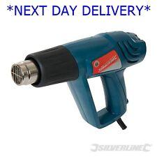 Pistola de aire caliente Silverstorm Ajustable 2000W 600 ° C 125963 removedor de pintura Calor Shrink