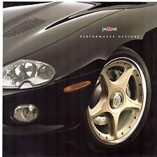 Jaguar R Performance Accessories 2000-01 UK Market Foldout Brochure SType XJ XK