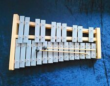 Quatro Percussion Professional Wooden GLOCKENSPIEL Soprano Xylophone 2 Beaters