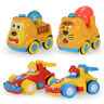 4pcs Baby Push and Go Friction Car Mini Vehicle Toddler Toys for Kids Gift