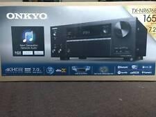 Onkyo TX-NR676E Atmos Receiver, 7.1.2 Speakers, Polk Stereo Amplifier Package