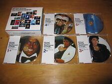 MICHAEL JACKSON TOUR SOUVENIR CD SINGLE 5CD BOX SET SPECIAL L/E PICTURE CD