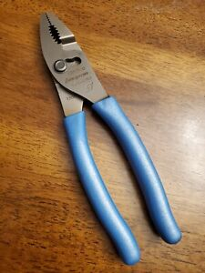 *NEW & UNUSED* Snap On PEARL BLUE 47ACF - Combo Slip Joint Pliers FREE SHIPPING