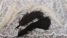 ANTIQUE OSTRICH FEATHER COLLECTION VARIOUS SIZES MILLINERY
