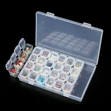 Nail art Storage Box For Rhinestones Alloy Parts Organizer Beads Jewelry boxes