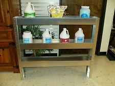 "48"" Aluminum Carpet Cleaning Van Chemical Shelf"