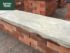 Natural Sandstone Double Wall Copings, Traditional Reclaimed Style, 90cm x 30cm