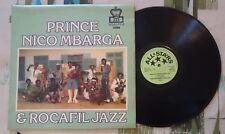 Prince Nico Mbaraga & Rocafil Jazz LP African 1976 UK Press Sweet Mother VG+