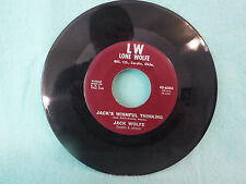 Jack Wolfe, You On My Mind/ Jack's Wishful Thinking, Lone Wolfe 45-6303, Country