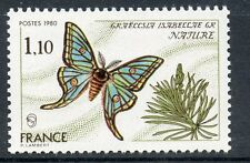 TIMBRE FRANCE FRANCE N° 2089 ** NATURE PAPILLON FAUNE