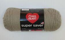 Red Heart Super Saver Yarn Acrylic 7 oz In Oatmeal