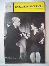 PLAZA SUITE Playbill NEIL SIMON / MAUREEN STAPLETON / NICOL WILLIAMSON NYC 1968
