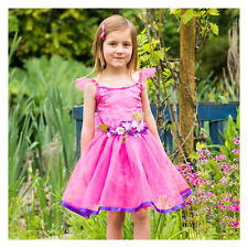 FAIRY PRINCESS UK GIRLS PINK PARTY FLOWER FAIRY DRESS UP COSTUME BOOK WEEK 6/8YR