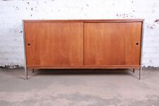 Paul McCobb for Calvin Mid-Century Modern Walnut Sideboard Credenza
