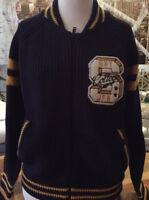 Superdry Damen Strickjacke Pullover Varsity Neu Gr.L/42
