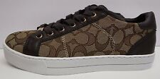 Coach Size 9 Brown Sneakers  New Womens Shoes