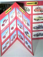 CATALOGUE PROJETTO K 1/43 1996 : FIAT, LANCIA, ALFA, ITALIAN VANS & SPORTS CARS