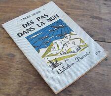 COLLECTION PIERROT DES PAS DANS LA NUIT OSCAR GILLES 1946 ILLUSTRATIONS BORIS