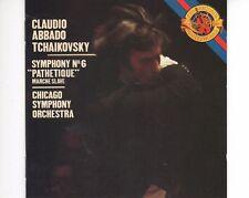 CD CLAUDIO ABBADOTchaikovsky symphony no 6CHICAGO SYMP ORCHEX+ (B1381)