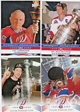 2008-09 UD Montreal Canadiens Centenial SSP U Pick a Player lot/list #s 201-300