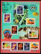 Frankrijk postfris 2001 MNH sheet 3561-3565 - Wetenschap in 20ste Eeuw (XL139)