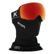 Anon M2 MFI  Goggles Black Sonar Red