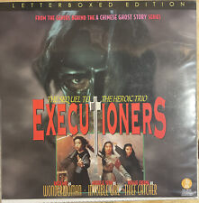 Executioners Hong Kong Movie Laserdisc Tai Seng