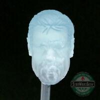 """ML323 Holographic Tony Stark A. I.  Custom Cast head use w/ 6"""" Marvel Legends"""