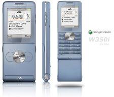 Sony Ericsson Walkman W350i - Blue Mobile Phone