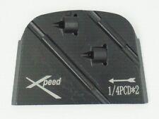 Lavina Pcd Grinding Plate, 2 pcs Pcd+ 2 pcs Carbide Wear Bar, Right