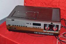 vintage retro rare  Philco VCR VHS model V1001QBK01 manufactured September 1982